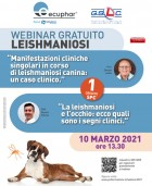 First Live Webinar on the Canine Leishmaniosis of 2021